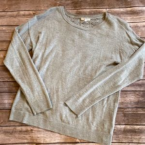 Maurices Heathered Gray Light Weight Sweater